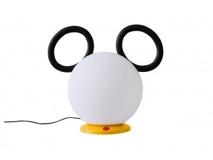 Bílá plastová stolní/stojací lampa Fermob Mickey Mouse © 30 cm