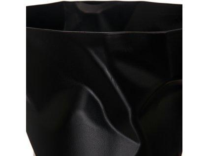 Odpadkový koš Crum, černá