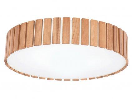 Jasanové stropní světlo Tambor 45 cm