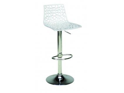 Barová židle Coral, bílá