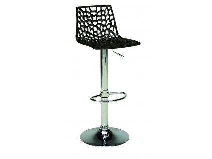 Barová židle Coral, černá