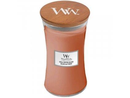 Velká vonná svíčka Woodwick, Chilli Pepper Gelato