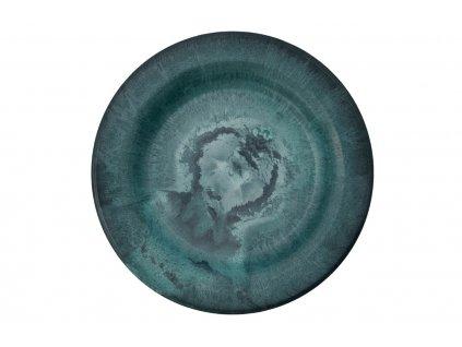 Zelený talíř Serveur ⌀ 18 cm