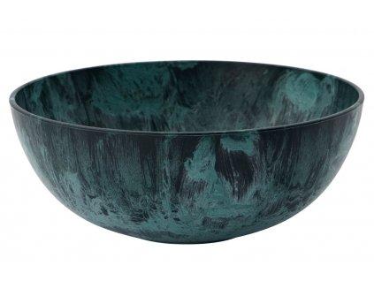 Zelená miska Serveur ⌀ 18,5 cm