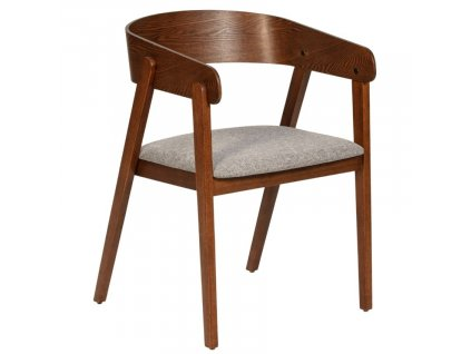 Hnědá jasanová jídelní židle Marckeric Simons