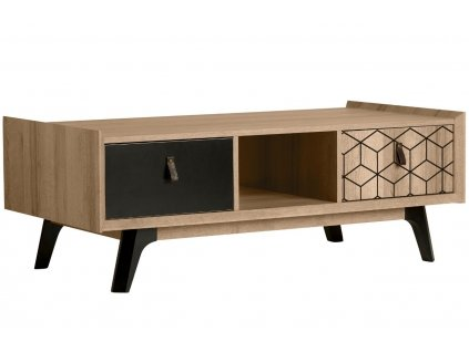 Dubový konferenční stolek Marckeric Ceilan 117 x 59 cm