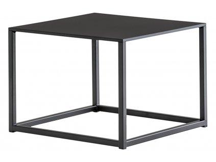Černý kovový konferenční stolek Code 50x50 cm