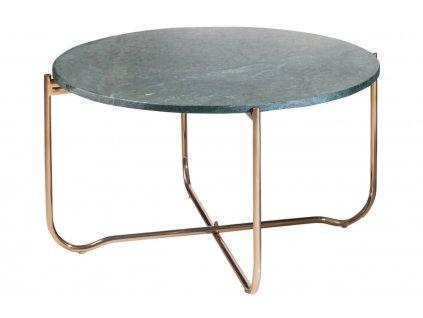 Zelený mramorový konferenční stolek Morami 62 cmNávrh bez názvu