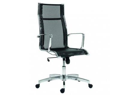 Černá kancelářská židle Kase Mesh Black