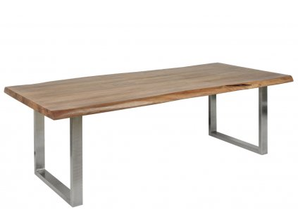 Masivní akátovMasivní akátový jídelní stůl Holz U 300 x 100 cm