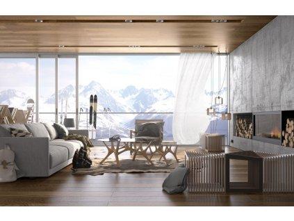 Konferenční stolek Tabanda Moose 59 cm, dub