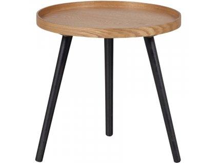 Hnědý jasanový konferenční stolek Mireli 45 cm