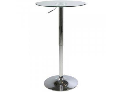 Skleněný barový stůl Andy 60 cm