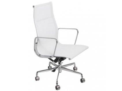 Kancelářské křeslo Aluminium Group 119, bílá