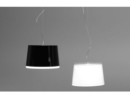 Závěsné plastové světlo Pedrali L001S/BB