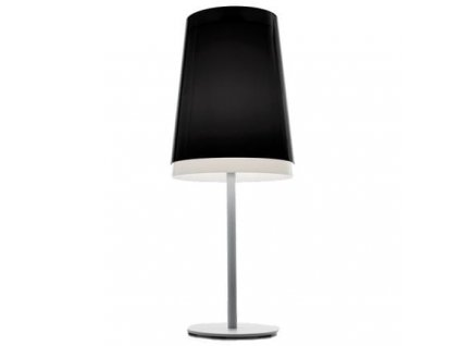 Černá stolní lampa Pedrali L001TA/AA