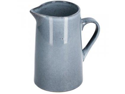 Modrý keramický džbán LaForma Airena Ø 17,5 cm