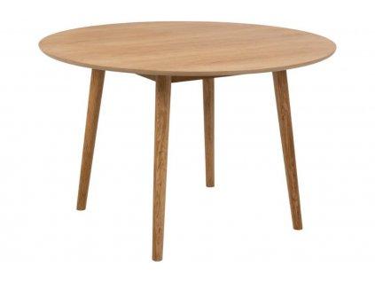 Přírodní dubový jídelní stůl Nagy 120 cm