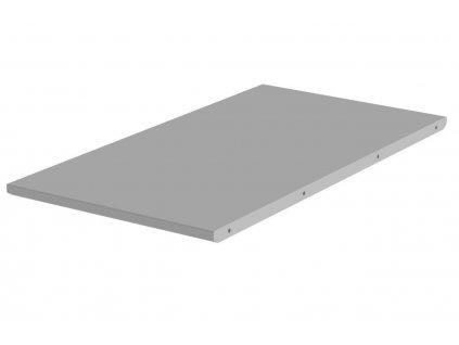 Matně šedá lakovaná prodlužovací deska ke stolu Tenzo Dot 45 x 90 cm