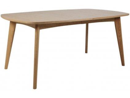 Rozkládací dubový jídelní stůl Maryt 180-270 cm