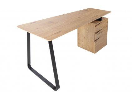 Dubový pracovní stůl Presa 160 x 49 cm
