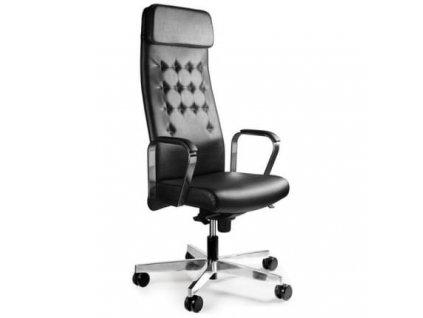 Designová kancelářská židle BL-011, ekokůže
