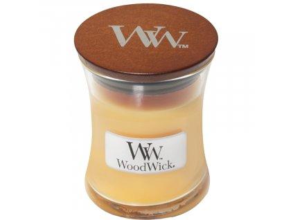 Malá vonná svíčka Woodwick, Seaside Mimosa
