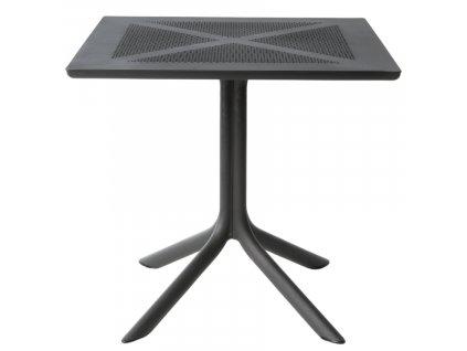 Černý stolek Loft Coffee 80 cm