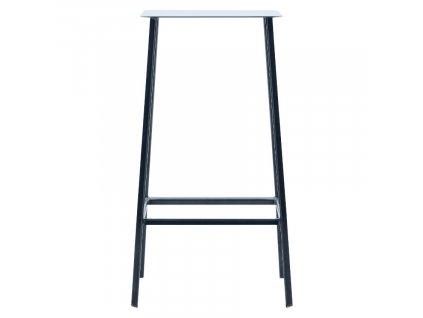 Černá kovová barová židle Stag 75 cm