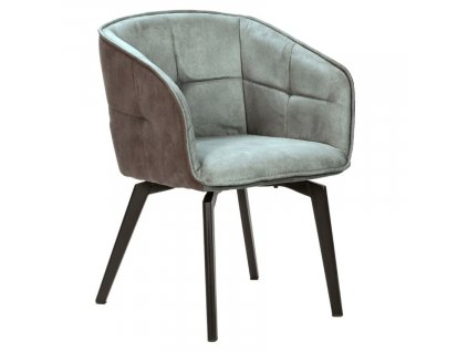 Modrá látková jídelní židle Marckeric Herta