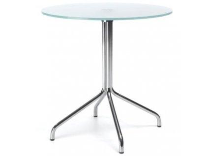 Skleněný konferenční stolek H60 60 cm