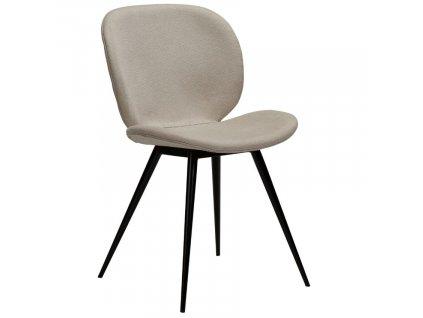 Béžová látková jídelní židle DanForm Cloud