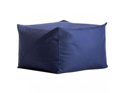 Modrý sedací vak MARBET FIKKA POUF