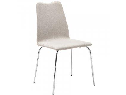Béžová látková konferenční židle Marbet Confee 4N