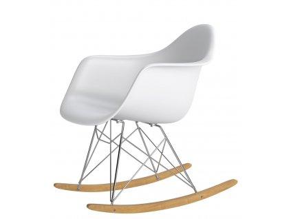 Designové houpací křeslo RAR, bílá