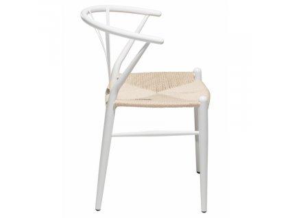 Bílá jídelní židle DanForm Delta