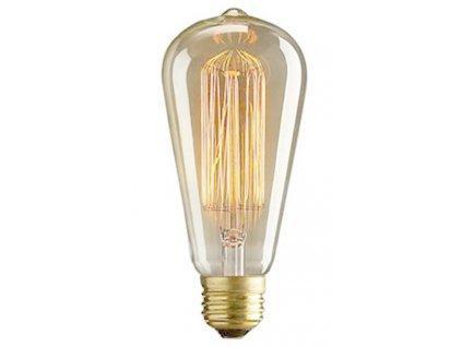 Designová retro žárovka Alva