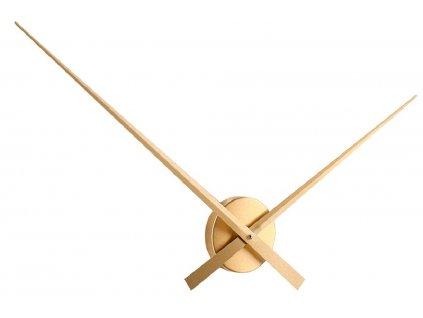 Zlaté nástěnné hodiny Gore