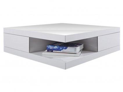 Konferenční bílý stolek Aubrey
