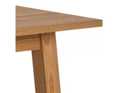 Rustikální rozkládací dubový jídelní stůl Rachel 160-250 cm
