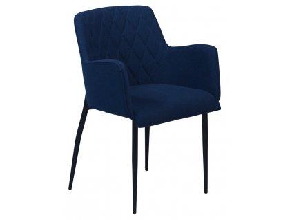 Modrá židle DanForm Rombo