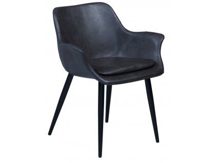 Šedá vintage židle DanForm Combino