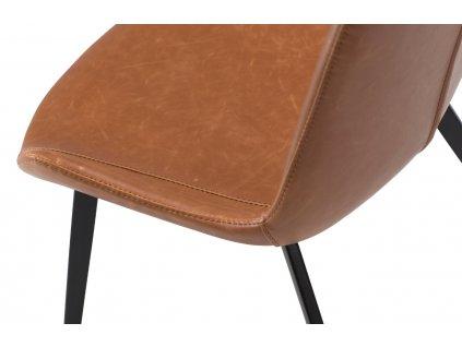 Koňaková koženková židle DanForm Hype