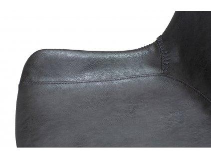 Tmavě šedá barová židle DanForm Hype