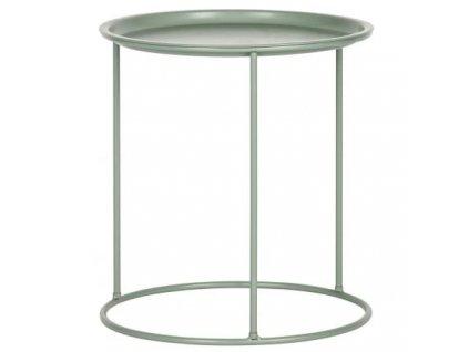 Zelený kovový konferenční stolek Select M