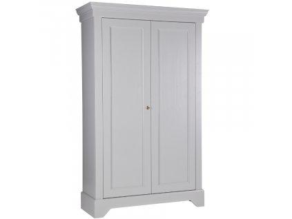 Betonově šedá šatní skříň Bella