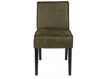 Zelená židle Raden