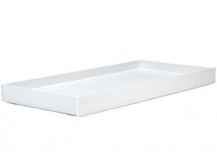 Bílá zásuvka k dětské posteli Wooliz
