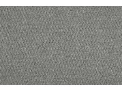 Světle šedá barová židle Garry, 87 cm, čalounění, protiskluzové podložky, olejovaná dubová podnož