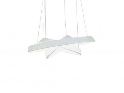 Bílé závěsné světlo Orbit 12